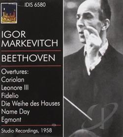 Beethoven, Ludwig Van - Overtures CD Cover Art