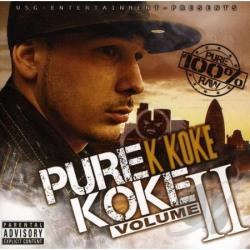 K Koke - Pure Koke, Vol. 2 CD Cover Art