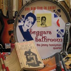 Jimmy Honeyman Quartet - Beggars Bathroom CD Cover Art