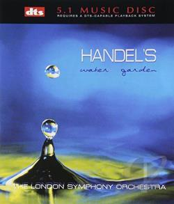Handel, George Frideric - DTS Classical Collection - Handel's Water Garden DVA Cover Art