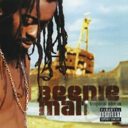 Beenie Man - Tropical Storm CD Cover Art