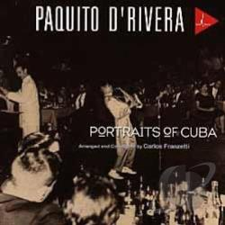 D'Rivera, Paquito - Portraits of Cuba CD Cover Art