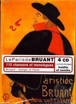 Bruant, Aristide - Paris de Bruant CD Cover Art