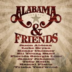 Alabama - Alabama & Friends CD Cover Art