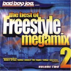 Bad Boy Joe - Best of Freestyle Megamix, Vol. 2 CD Cover Art