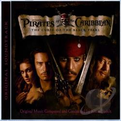Badelt, Klaus - Pirates of the Caribbean: The Curse of the Black Pearl CD Cover Art