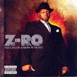 Z-Ro - Life of Joseph W. McVey CD Cover Art