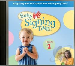 Deazvedo, Rachel - Baby Signing Time! Songs, Vol. 1 CD Cover Art