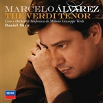 Alvarez, Marcelo / Oren / Osmv - Verdi Tenor CD Cover Art