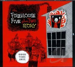 Firehouse Five Plus Two - Firehouse Five Plus Two Story CD Cover Art