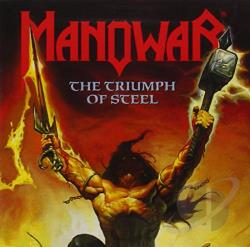Manowar - Triumph of Steel CD Cover Art