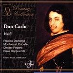 Caball� / Domingo - Verdi: Don Carlo CD Cover Art