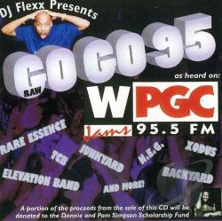 DJ Flexx - Go Go 95 CD Cover Art