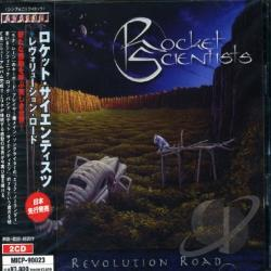 Rocket Scientists - Revolution Road CD Cover Art