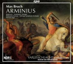 Begemann / Bruch / Eittinger / Kantore / Smallwood - Max Bruch: Arminius CD Cover Art