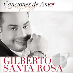 Santa Rosa, Gilberto - Canciones de Amor CD Cover Art