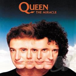 Queen - Miracle CD Cover Art
