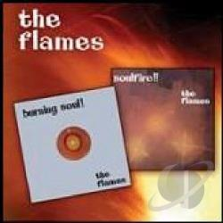 Flames - Burning Soul + Soulfire CD Cover Art