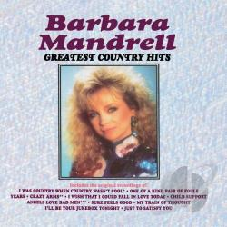 Mandrell, Barbara - Greatest Country Hits CD Cover Art