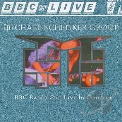Schenker, Michael - BBC Radio One Live In Concert CD Cover Art