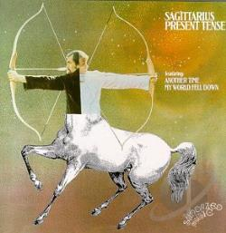 Sagittarius - Present Tense CD Cover Art