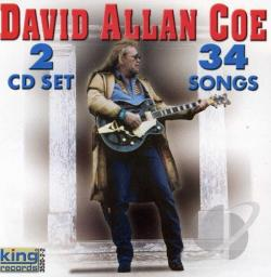 Coe, David Allan - Original Outlaw 2CD Set 34 Songs CD Cover Art