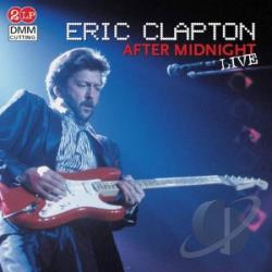 Clapton, Eric - After Midnight: Live LP Cover Art