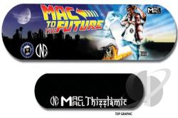 Mac To The Future Skateboard Cover Art