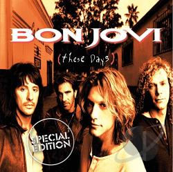 Bon Jovi - These Days CD Cover Art
