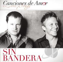 Sin Bandera - Canciones de Amor CD Cover Art