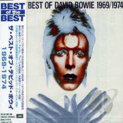 Bowie, David - Best Of 1969-1974 CD Cover Art