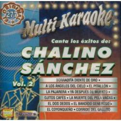 Sanchez, Chalino - Vol. 2 - Exitos - Multi Karaoke CD Cover Art