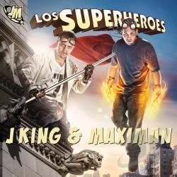 Maximan, Jking Y - Los Superheroes CD Cover Art