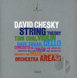 Chesky / Chiu / Eggar - David Chesky: String Theory CD Cover Art