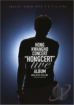 Kwang Ho, Hong - Hongcert: Live Album CD Cover Art