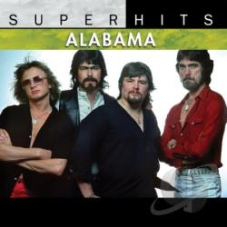 Alabama - Super Hits CD Cover Art