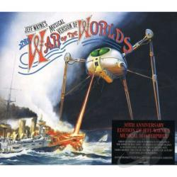 Wayne, Jeff - War of the Worlds CD Cover Art