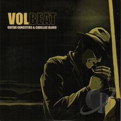 VolBeat - Guitar Gangsters and Cadillac Blood CD Cover Art