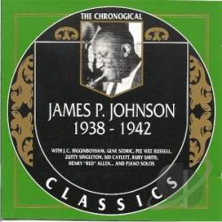 Johnson, James P. - 1938-1942 CD Cover Art