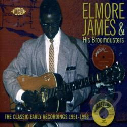 James, Elmore - Classic Early Recordings 1951-1956 CD Cover Art