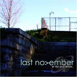 Last November - All the Gory Details CD Cover Art