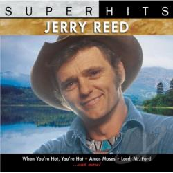 Reed, Jerry - Super Hits CD Cover Art