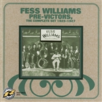 Williams, Fess - Pre-Victors: The Complete Set 1925-1927 CD Cover Art