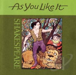 As You Like It - William Shakespeare's: As You Like It CD Cover Art