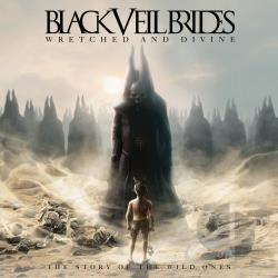 Black Veil Brides - Wretched and Divine: The Story of the Wild Ones CD Cover Art