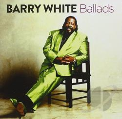 White, Barry - Ballads CD Cover Art