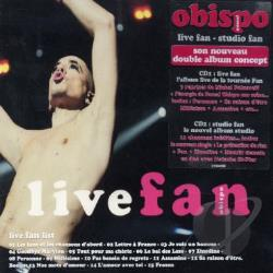 Obispo, Pascal - Live Fan/Studio Fan CD Cover Art