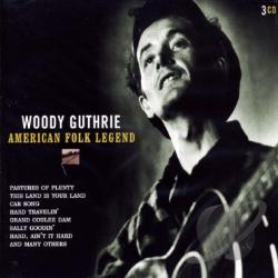 Guthrie, Woody - American Folk Legend CD Cover Art