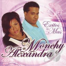 Monchy & Alexandra - Exitos y Mas CD Cover Art