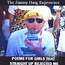 Haig, Jimmy - Poems for Girls That Straight Up Rejected ME CD Cover Art